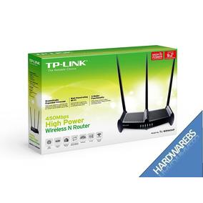 Router Wifi Tplink Wr941hp Alta Potencia 450mbps 3 Antenas