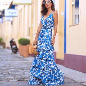 5a9852835 Vestido Da Marca Amissima - Vestidos Femininas Azul no Mercado Livre ...
