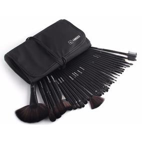 Maquiagem Profissional Kit Com 32 Pincéis + Bolsa/estojo