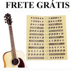 Adesivo Escala Marcador Notas Violao Guitarra Frete Gratis