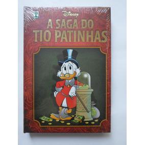 A Saga Do Tio Patinhas - Disney - Capa Dura