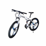 Lauxjack Bicicleta Urbana Plegable 24 Velocidades Rodada 26