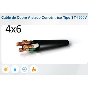 Cable Concentrico 4x6 Incable