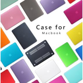 Case Macbook Pro/retina/air 11 12 13 15 + Película Teclado
