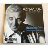 Cd Aznavour / Lo Mejor De... 40 Grandes Exitos