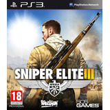 Sniper Elite 3 Ps3 || Digit || Stock Inmediato!!!