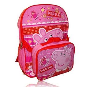 Juguete Peppa Pig Mochila Con Desmontable Caja De Almuerzo