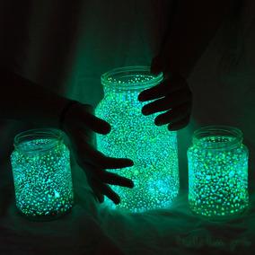 Pintura Brilla En La Obscuridad Glow In The Dark Pluma