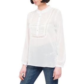 Blusa Romántica Blanco Dijon