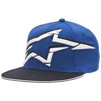 Gorra Alpinestars Roosted Hat Motocross Nuevos Azul