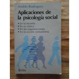 Aplicaciones De Psicologia Social - Aroldo Rodrigues