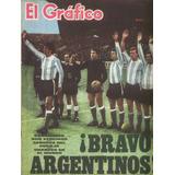 El Grafico 2442 Mundial 66 Bravo Argentinos