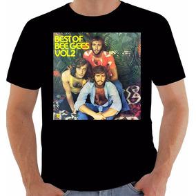 Camiseta Original Disco Best Of Bee Gees 1973 Vol 2