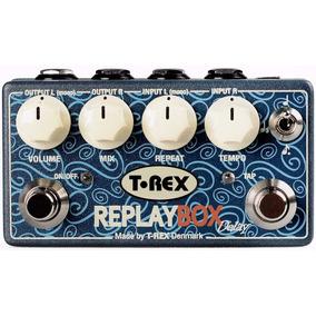 Pedal T Rex Replay Box Stereo Delay Novo