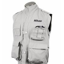 Colete Nikon Para Fotógrafo Cinegrafistas - G