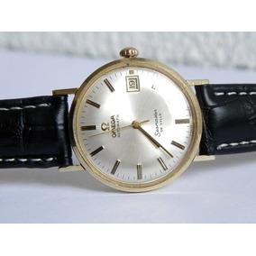 Reloj Omega Deville Oro De 14 Kilates Automático