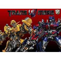 Kit Imprimible Transformers 4 Cumpleaños Fiesta Torta Robots