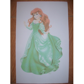 Set Princesas Disney Figuras Para Decorar Foamy Aurora Bella