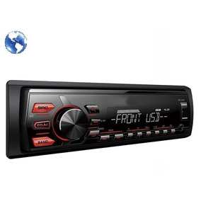 Autoestereo Bluetooth Usb Mp3 Sd Aux Fm Frente Desmontable