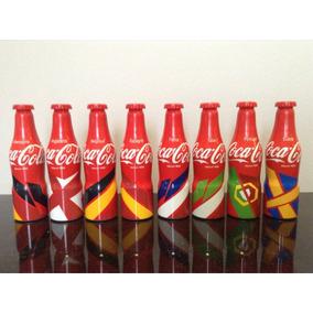 Mini Garrafas Coca Cola Aluminio Euro 2016 Pronta Entrega