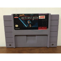 Super Star Wars Return Of The Jedi Super Nintendo / Snes