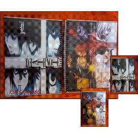 Caderno Death Note 10 Materias - 200 Folhas Mod 05