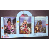 Barbie Kelly Amigos Del Mundo 3-muñeca Regalo Set
