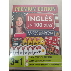 Curso Ingles En 100 Dias 7 Dvds + 3 Cd + Libro Nueva Edicio