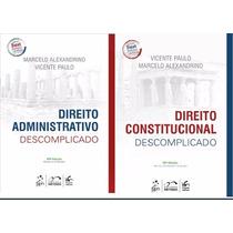 Direito Constitucional E Administrativo Descomplicado 2017 #
