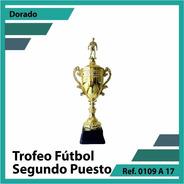 Trofeos De Futbol Segundo Puesto