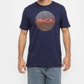 Camiseta Camisa Rvca Motors Lined Original Surf Skate