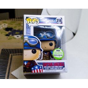 Funko Pop Originals Capitão America Guerra Aviador Filme Old