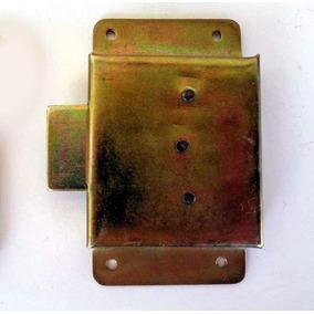 Fechadura Antiga Caixão Chave Colonial Gaveta Ou Armário