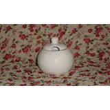 Azucarera Ceramica Blanca Para Decorar Fabrica , Primera