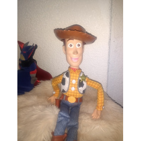 Toy Story Woody Parlante Habla En Inglés Thinkway Toys