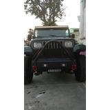 Defensa En Triangulo Delantera Para Jeep Wrangler Yj Y Tj
