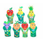 Fantoches Frutas 7 Personagens Eva 40 A 47 Cm Carlu