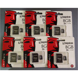 Memoria Micro Sd 8gb Kingston *clase 10* Con Adaptador
