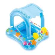 Flotador Inflable Con Techo Para Bebés Intex Baby Float