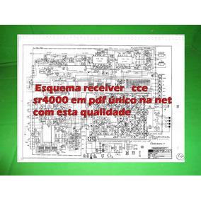 Esquema Receiver Cce Sr4000 Sr 4000 Em Pdf