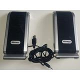 Caixa De Som Maxprint Multimídia Slim Usb 3w Rms 60386-1