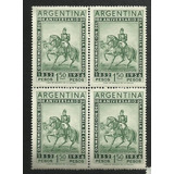 104 A. Batalla De Caseros $1.50 1956(558) Cuadro. Argentina