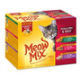Meow Mix Tender Favoritos Ave Y Ternera Variety Pack Wet Co