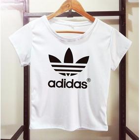 camisetas adidas chicas cortas