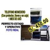 Telefono Monedero Con Protector Y Llaves 1 Mes De Uso