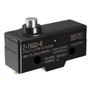Chave Fim De Curso Micro Switch Z-15gd-b Pino 15a 250v