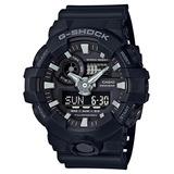 Reloj Casio G-shock Ga 700 1b Sumergible 200 Garantía 2 Años