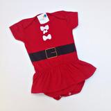 Body Infantil Natal Bebê Menina Mamãe Noel Com Frete Grátis