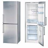 Heladera C/freezer Inferior Bosch Acero Inox 250lts Kgn33x71
