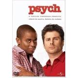 Psych Agentes Especiais 3ª Temp C/ 4 Dvds Lacrado Original